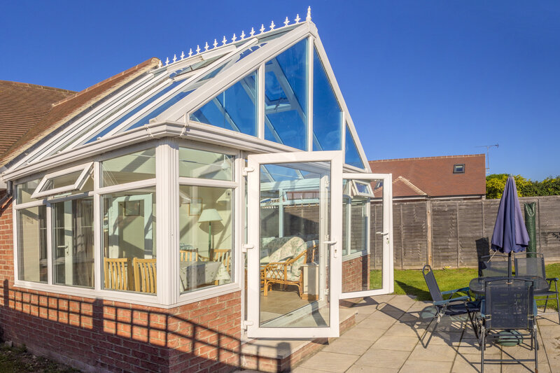 Glass Conservatory in Crawley West Sussex